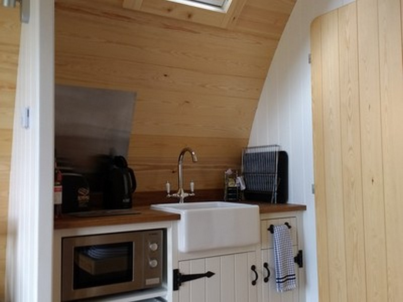 Fox & Badger Kitchen area
